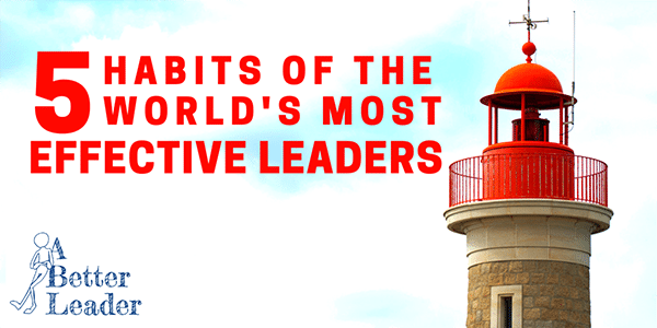 Great leadership habits