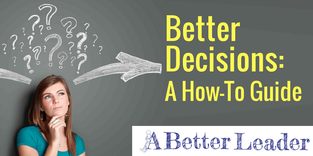 decision making for leaders