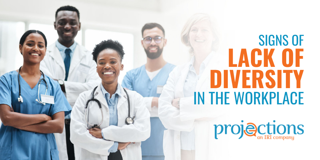 signs of lack of diversity in the workplace