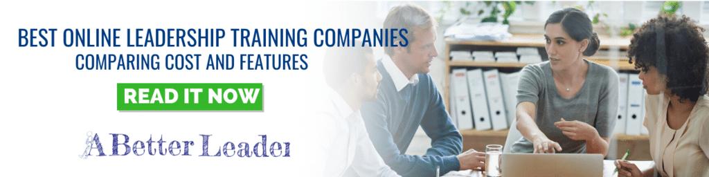 best online leadership training companies