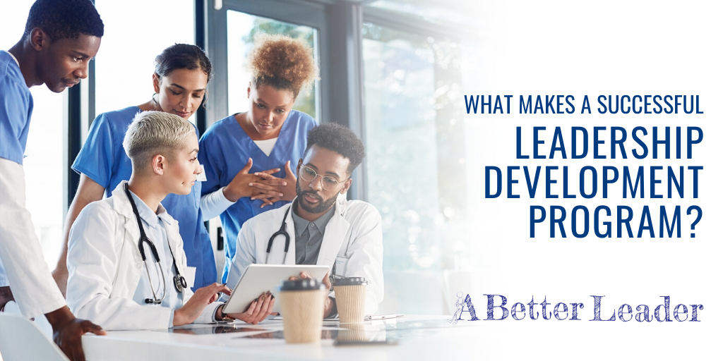 what makes a successful leadership development program