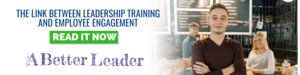 link between leadership training and employee engagement