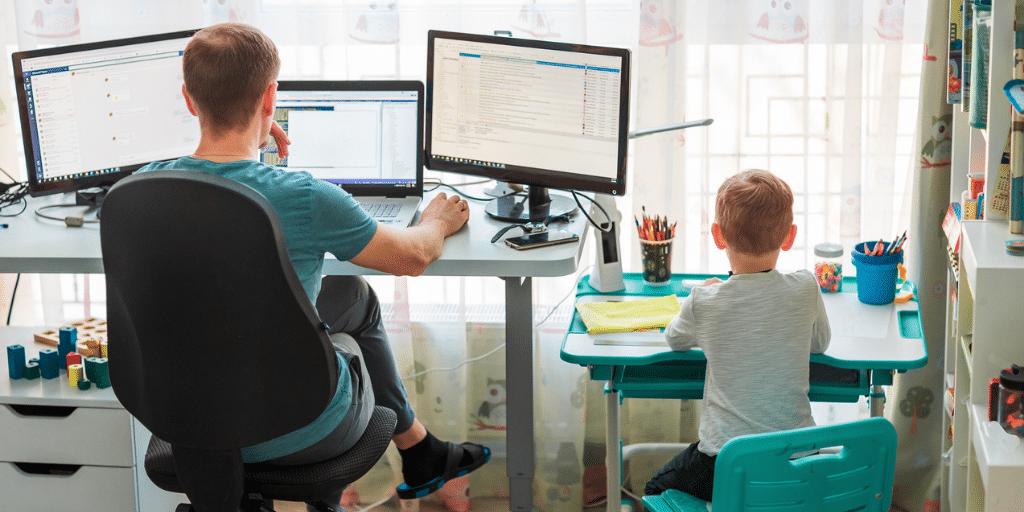work from home work-life balance strategies