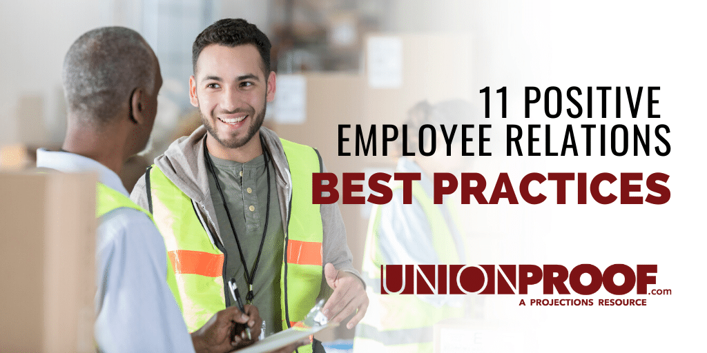 11 positive employee relations best practices