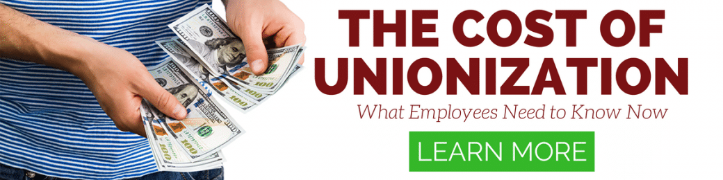 the cost of unionization video