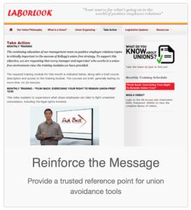 Laborlook website
