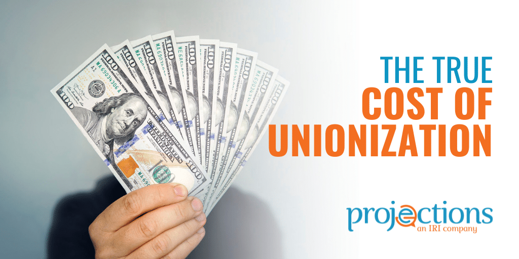 the cost of unionization