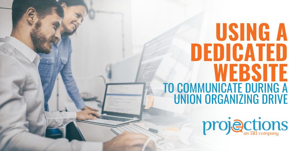 dedicated website for union organizing