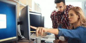 employee-focused website