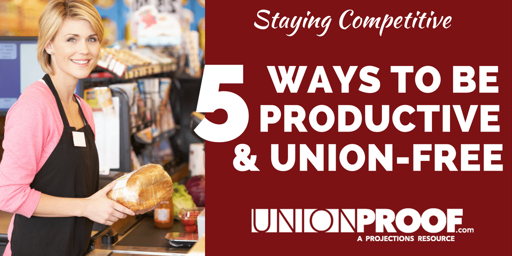Be Productive And Union-Free