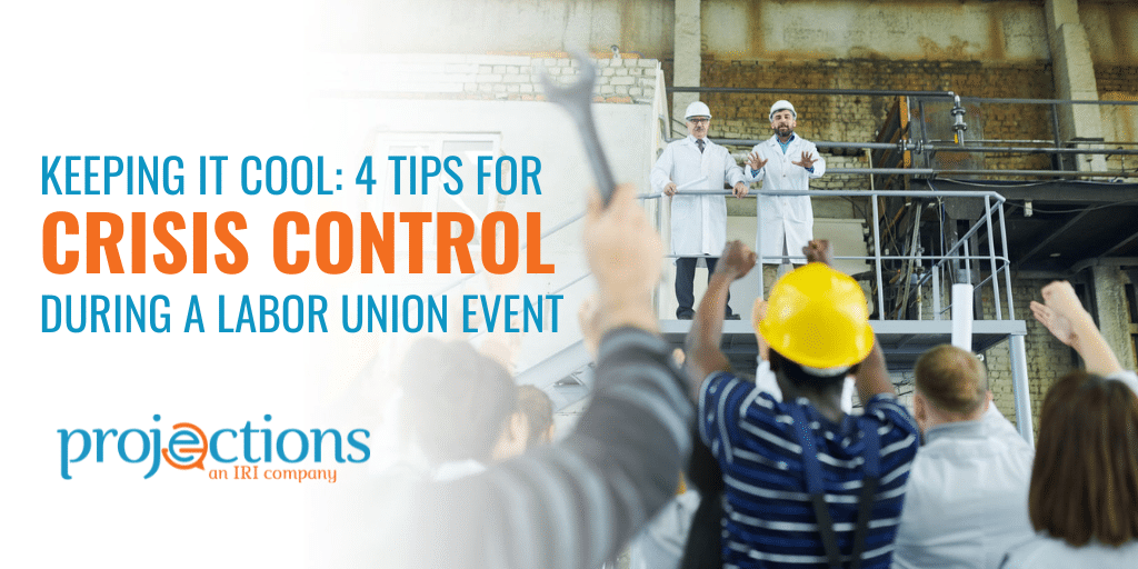 crisis control during a union event