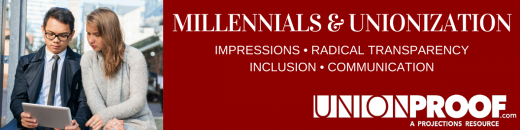 Millennials and Unionization