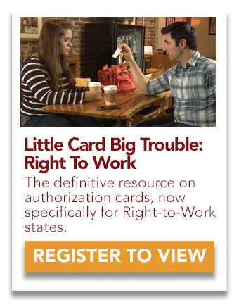 little card big trouble right to work