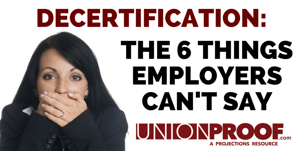 Decertification