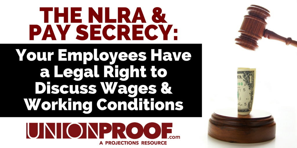 Know the law: NLRA & Pay Secrecy