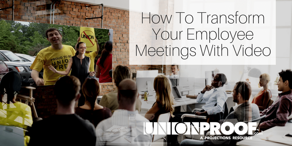 Using Video For Employee Meetings
