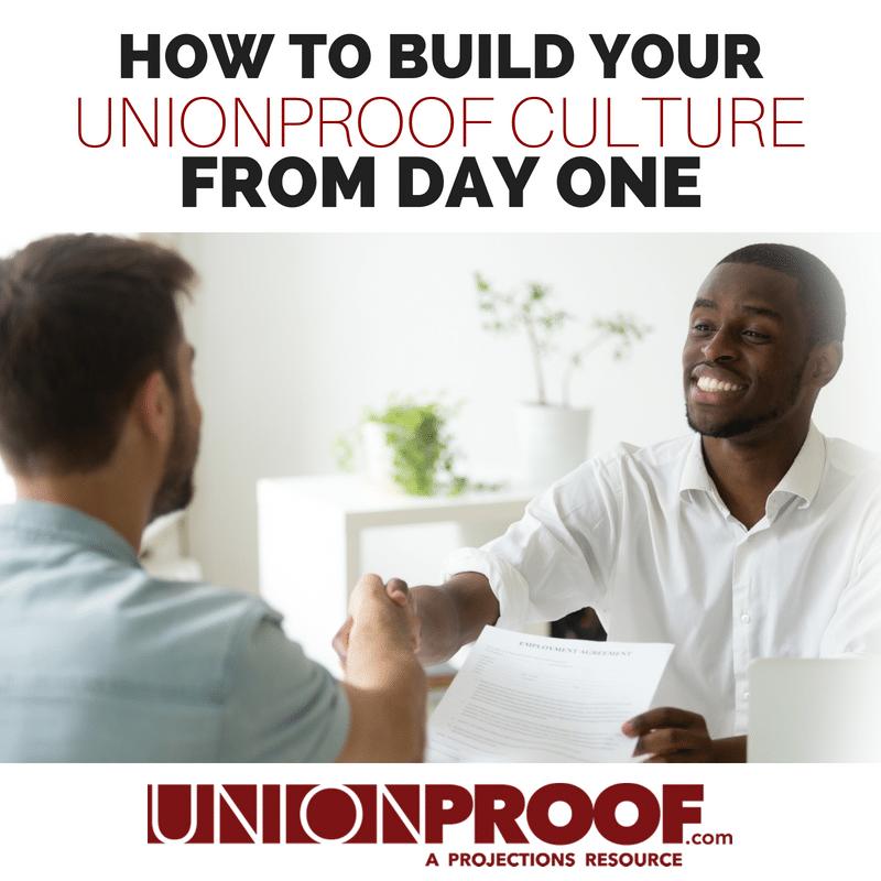 union proof orientation
