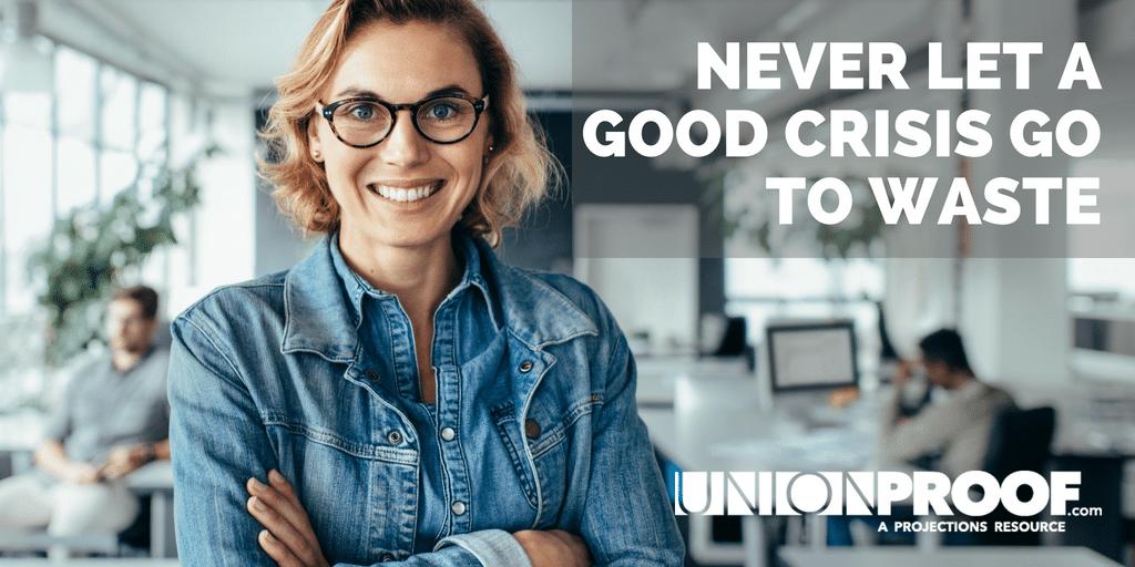 union organizing crisis