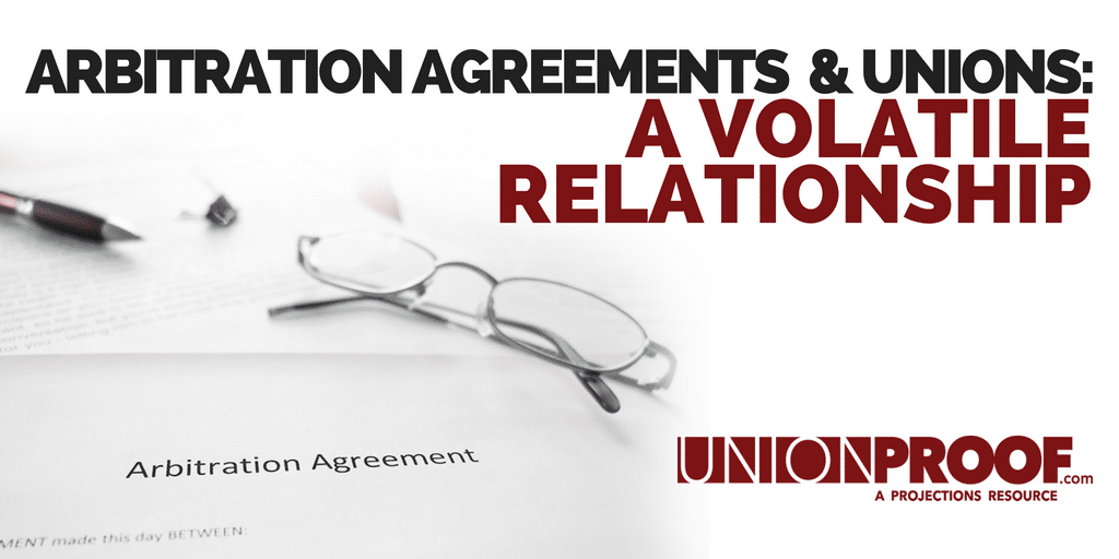 arbitration agreements unions