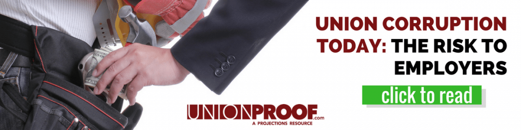 union corruption risk to employers
