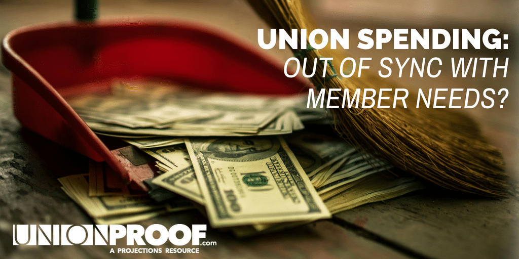 union spending