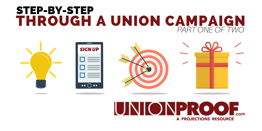 Steps of a Union Campaign