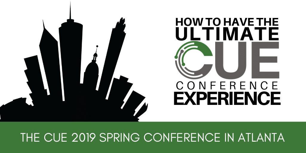 CUE Spring 2019 Conference