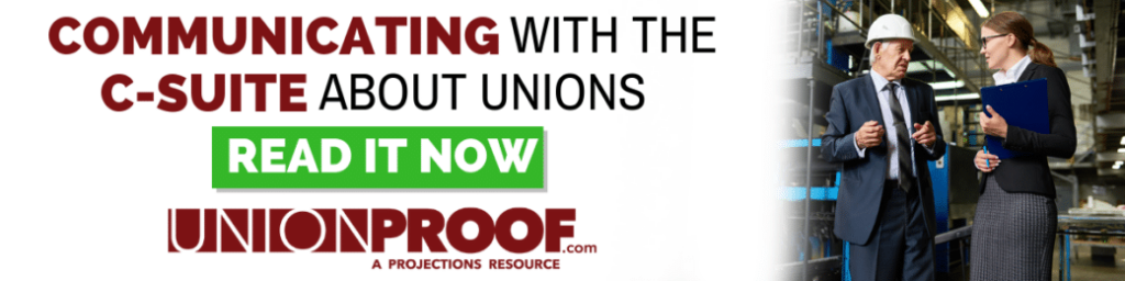Communicating with the c-suite about unions from UnionProof.