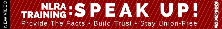 NRLA Training: Speak Up from UnionProof