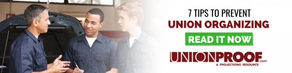 prevent union organizing tips