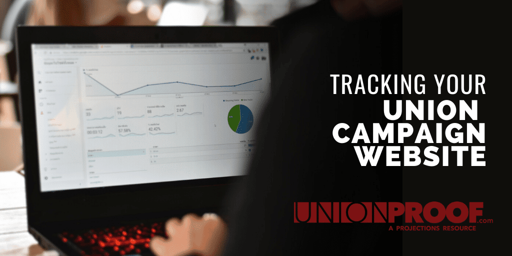 tracking your union campaign website
