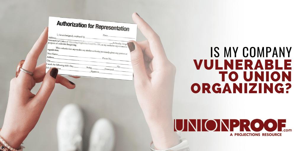 Union Vulnerability Assessment