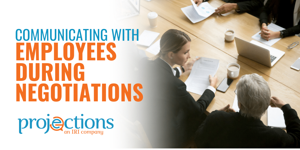 communicating with employees during negotiations