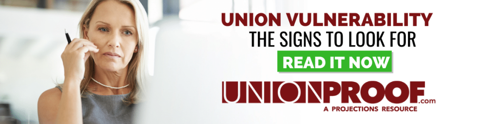 risk of union organizing