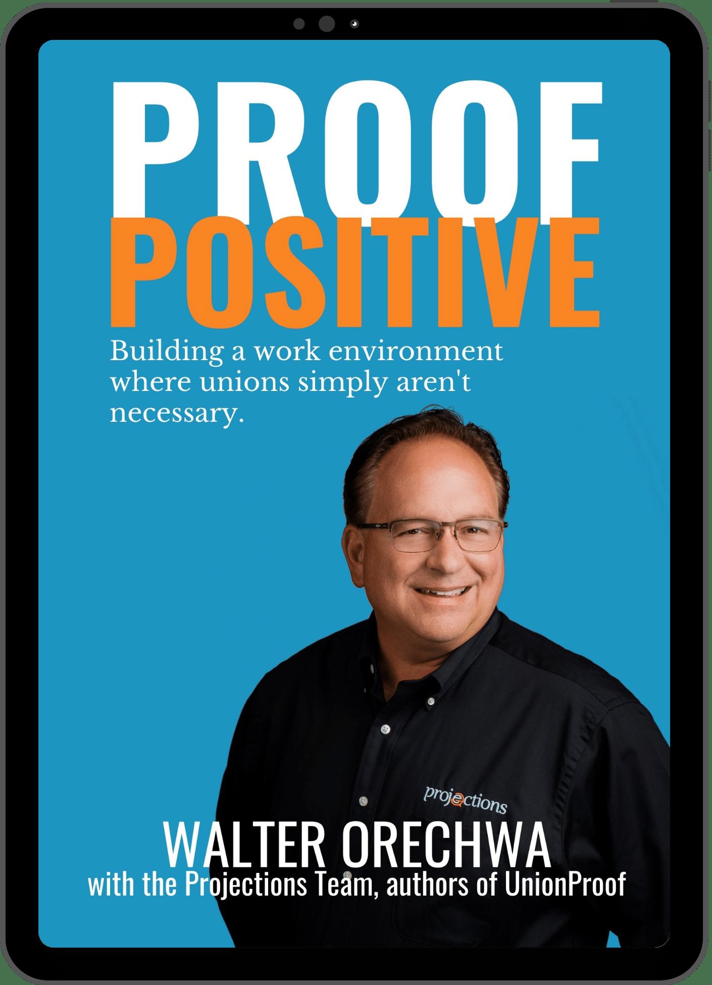 Proof Positive e-Book by Walter Orechwa