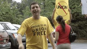 PushBack union organizing for employees
