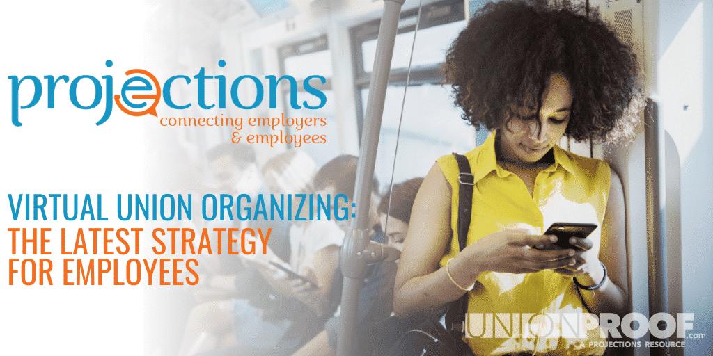 Virtual union organizing from Unionproof