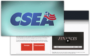 CSEA video and website for employees