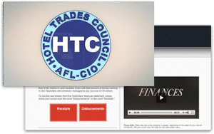 HTC union video website
