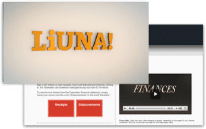 LIUNA video for employees