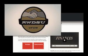 RWDSU video and website
