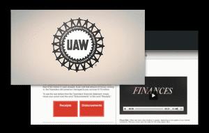 UAW video website
