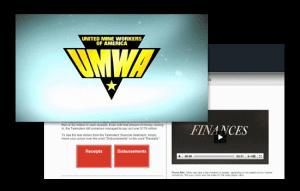 UMWA video and website