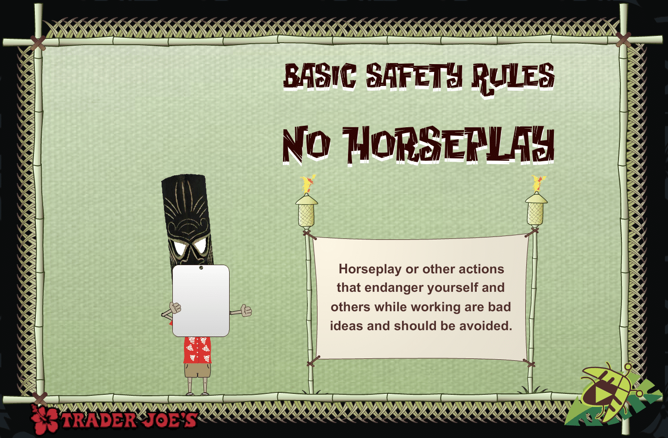 Trader Joes Safety ELearning