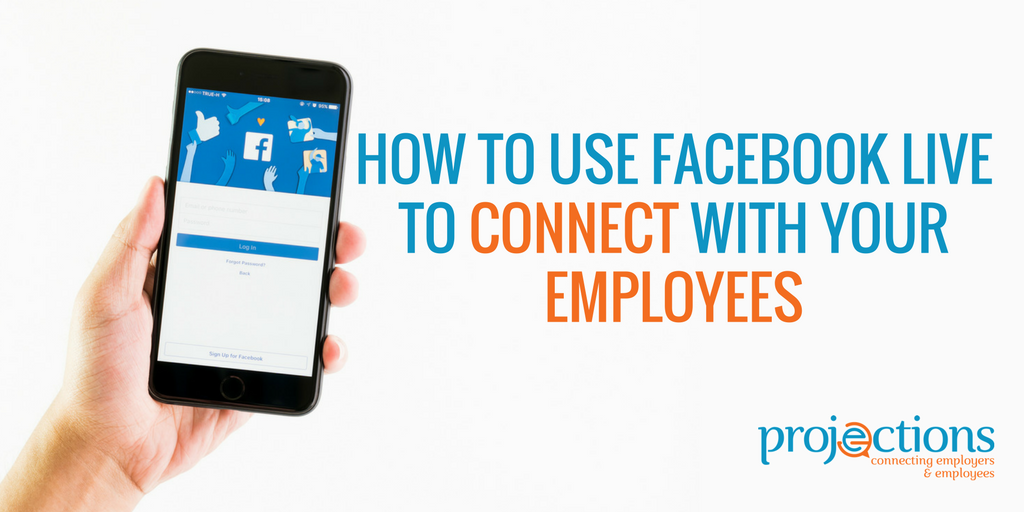Facebook Live for Employee Communication
