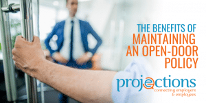 benefits of maintaining an open-door policy