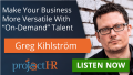 Podcast episode on freelance workers with Greg Kihlström