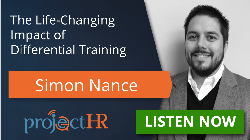 Podcast episode on differential training with Simon Nance