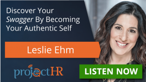 Podcast episode on your authentic self with Leslie Ehm