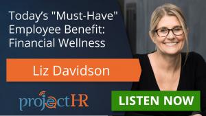 Podcast episode on Financial Wellness - Liz Davidson